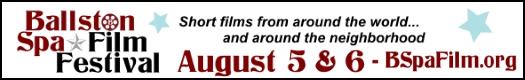 Ballston Spa Film Festival ad