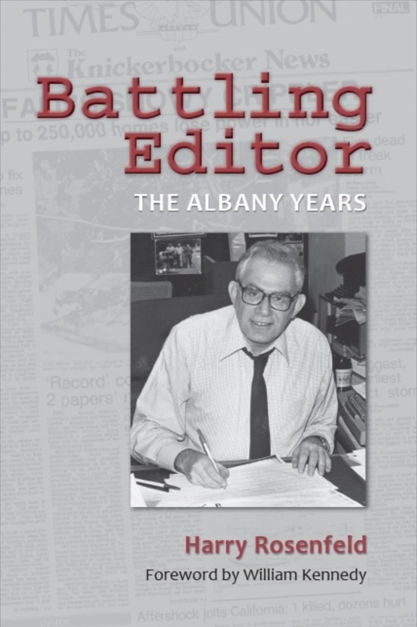 Battling Editor Harry Rosenfeld cover SUNY Press