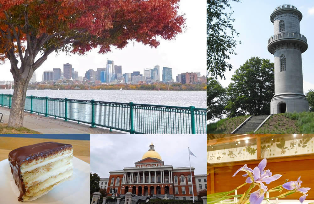 Boston Weekend Destination composite