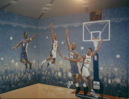 Boys_bedroom_Knicks-Lakers mural kevin clark.jpg