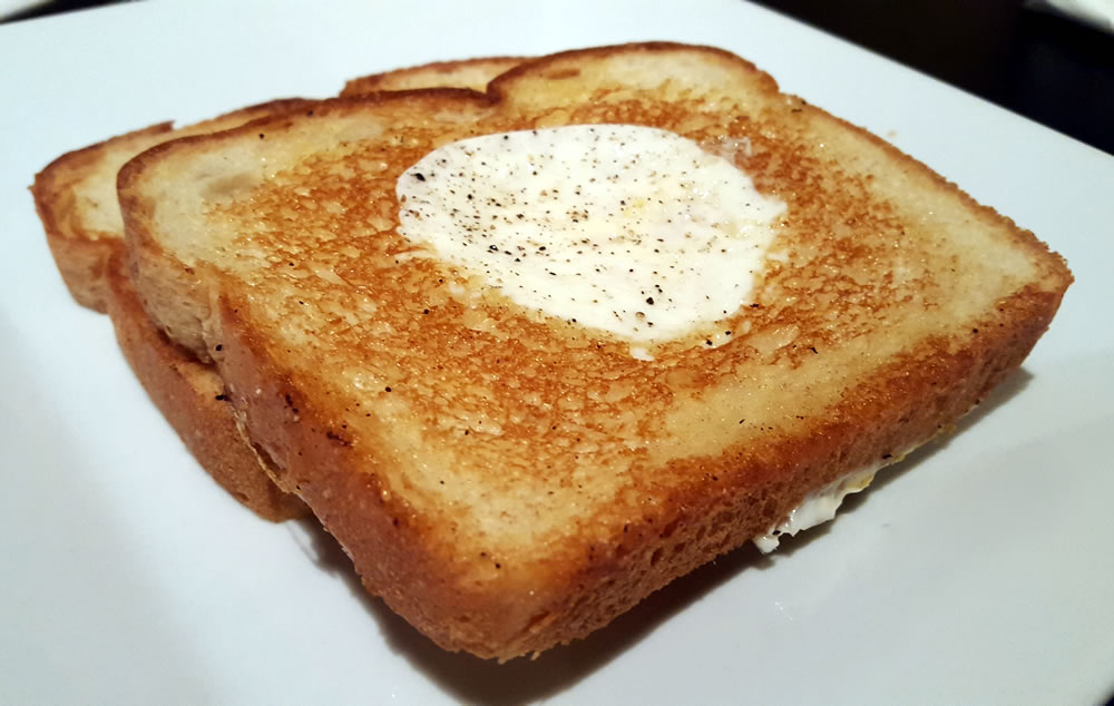 Egg in the Bread at Th...