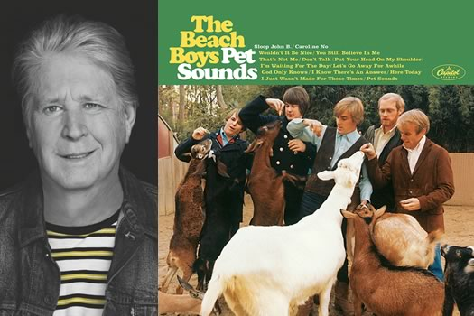 Brian Wilson Pet Sounds album cover