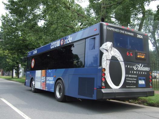 a CDTA bus