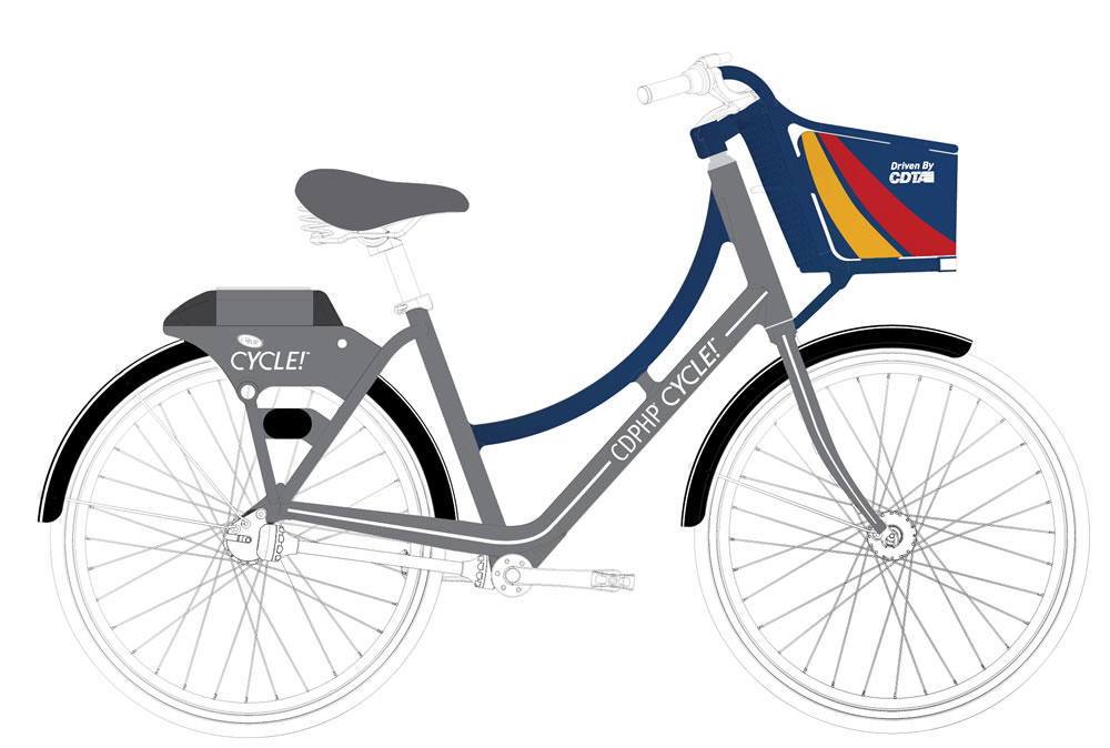 CDTA unicorn bike design