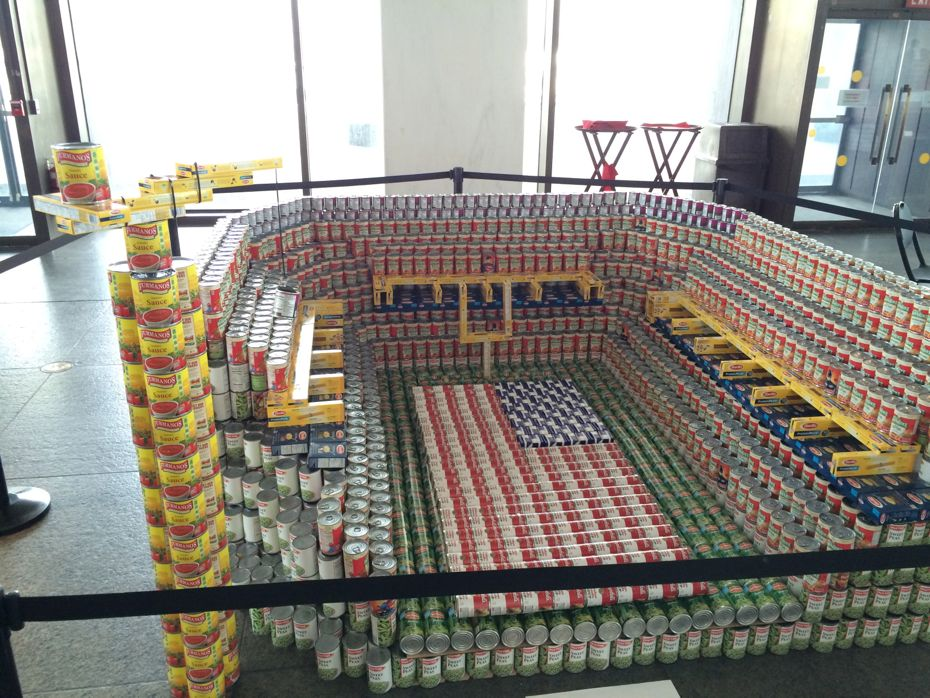 Canstruction 2017 All Over Albany