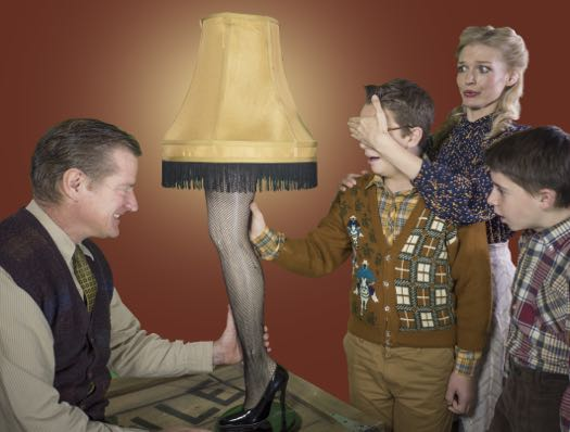 Cap Rep Christmas Story leg lamp