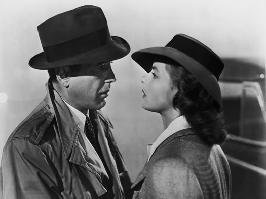 Casablanca Bogart and Bergman