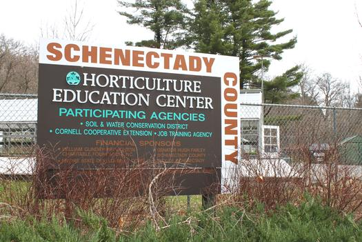Horticulture Center Sign