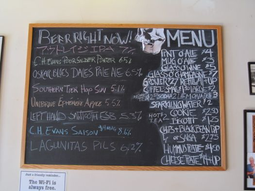 Chalkboard menu at spotty dog.jpg