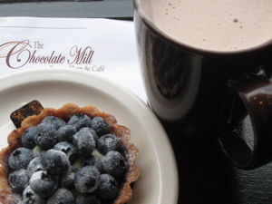 Chocolate mill blueberry tart.JPG