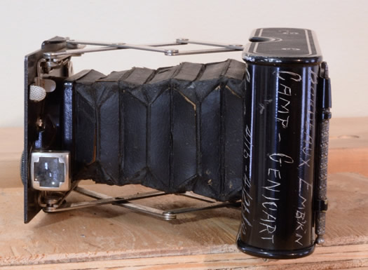 Chuck Miller's WWI camera
