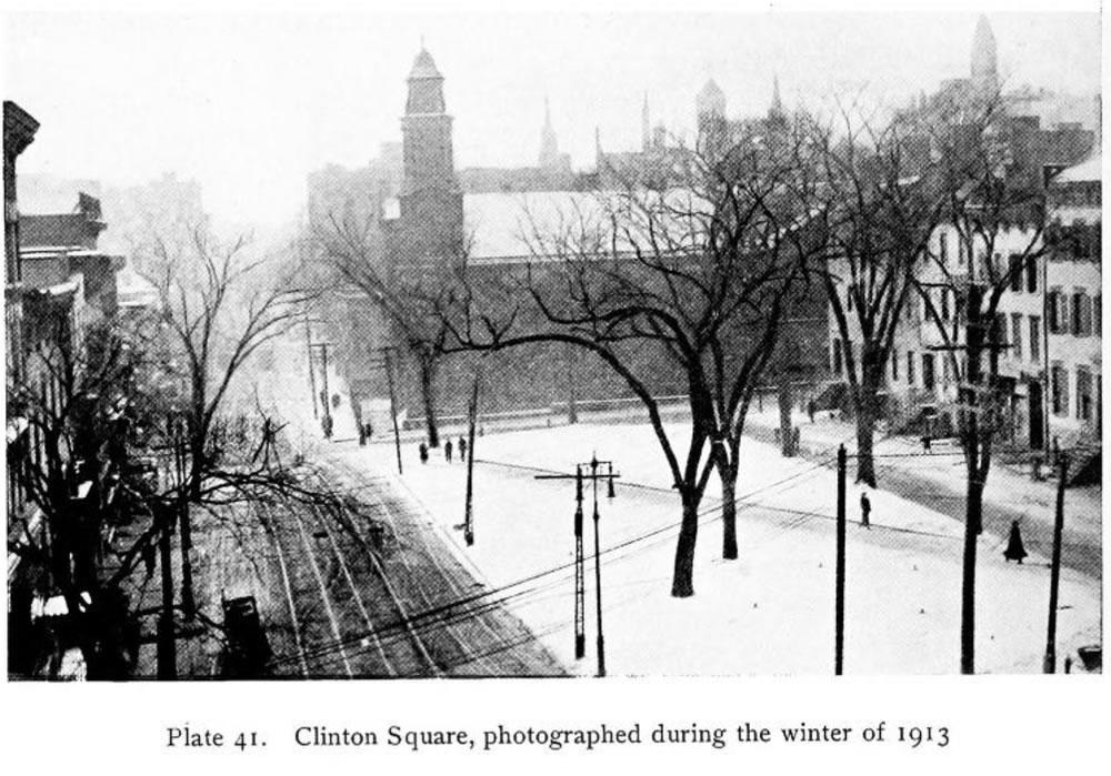 Clinton Square 1913 from Studies for Albany