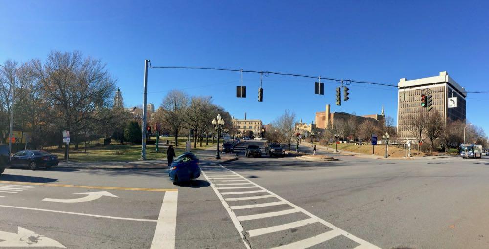 Clinton Square panorama 2017-December