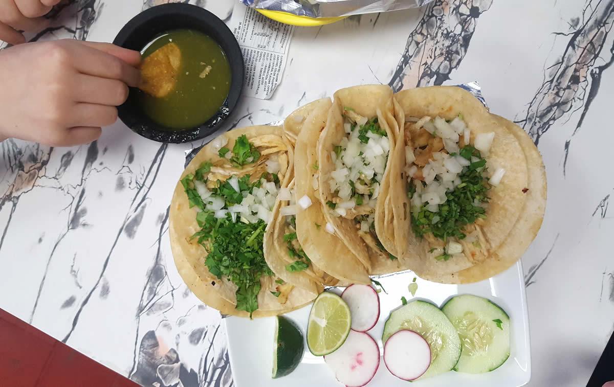 Cocina Vasquez Albany chicken tacos