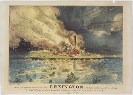 Currier and Ives lexington