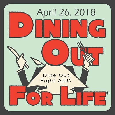 Dining Out for Life 2018 logo