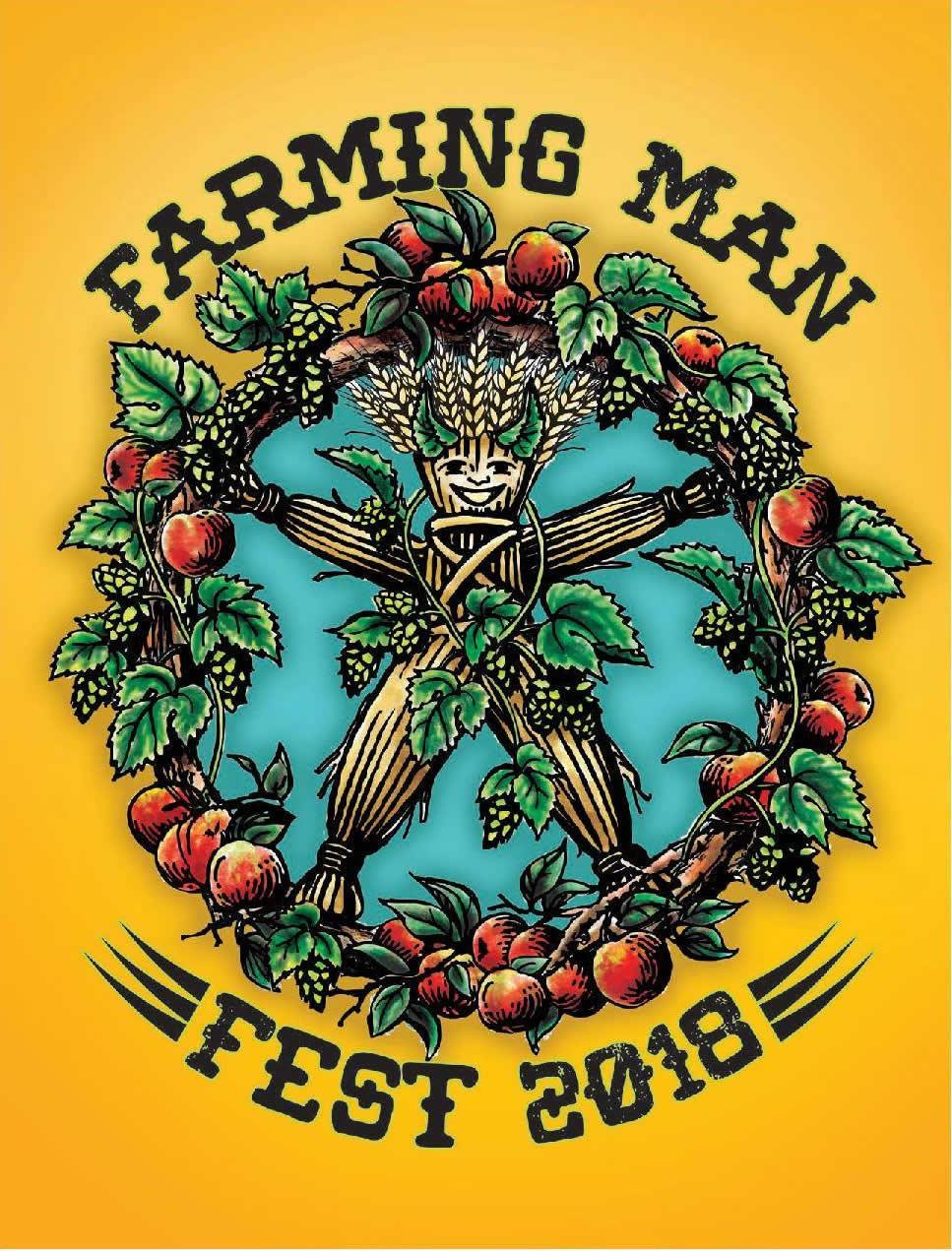 Farming Man Fest 2018 logo