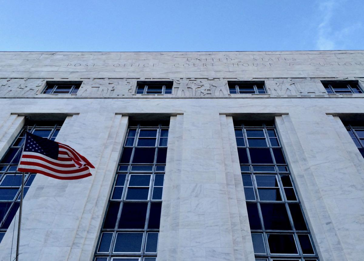 Foley Federal Courthouse flag frieze