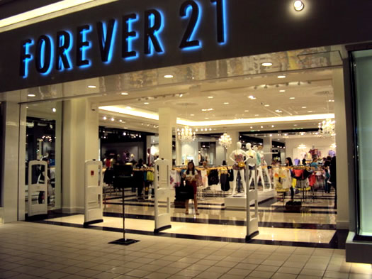 Forever 21 Entrance