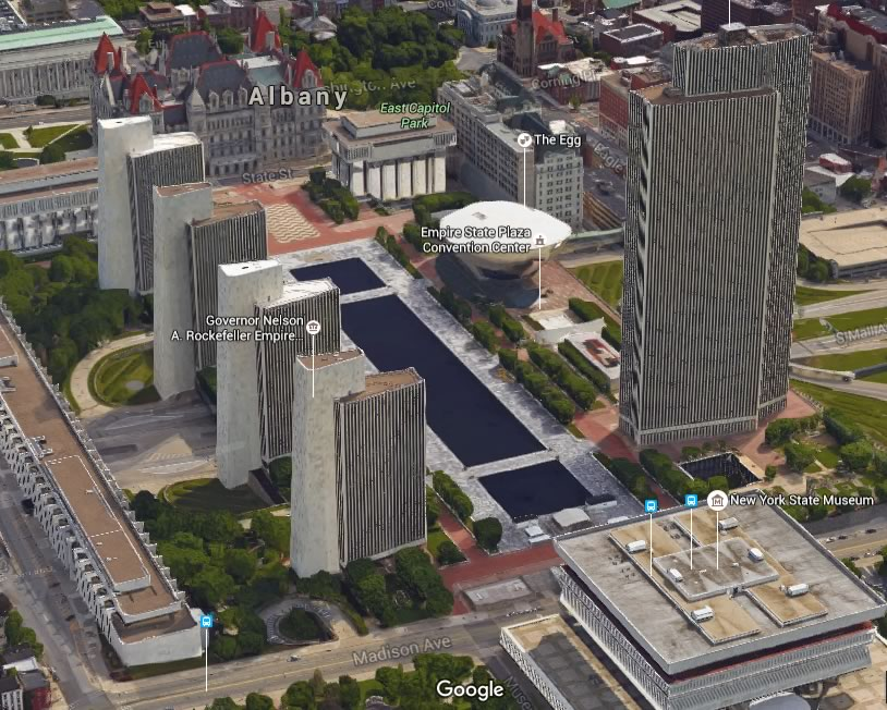 Flying through a 3D map of the Capital Region | All Over Albany