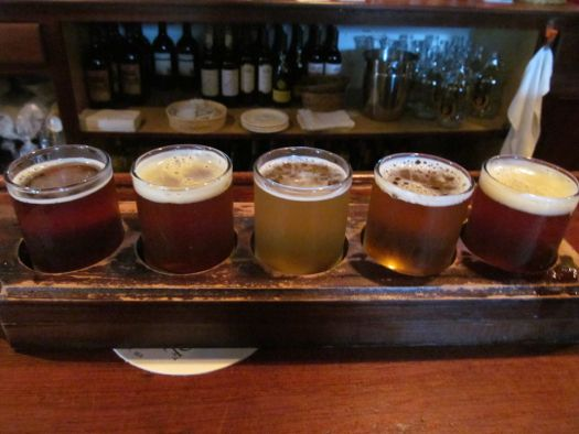 Great Barrington brewery tasting flight.jpg