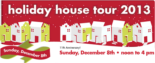 HAF holiday house tour 2013 logo
