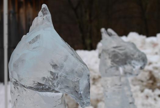 Hanford Mills Ice Sculpture