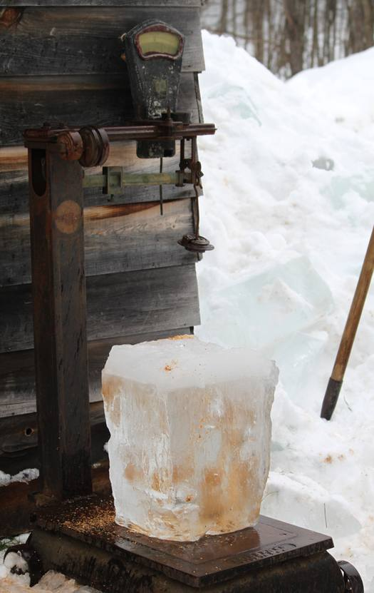 Hanford Mills Ice Weigh
