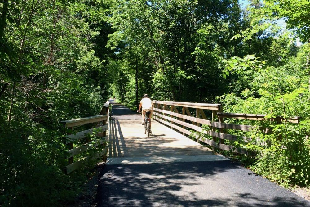 Helderberg Hudson Rail Trail Vly Creek bridge 2018-07-07