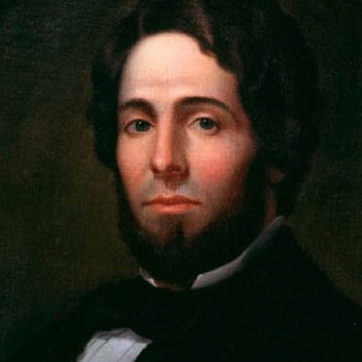 Herman Melville c 1846-1847 by Asa Weston Twitchell