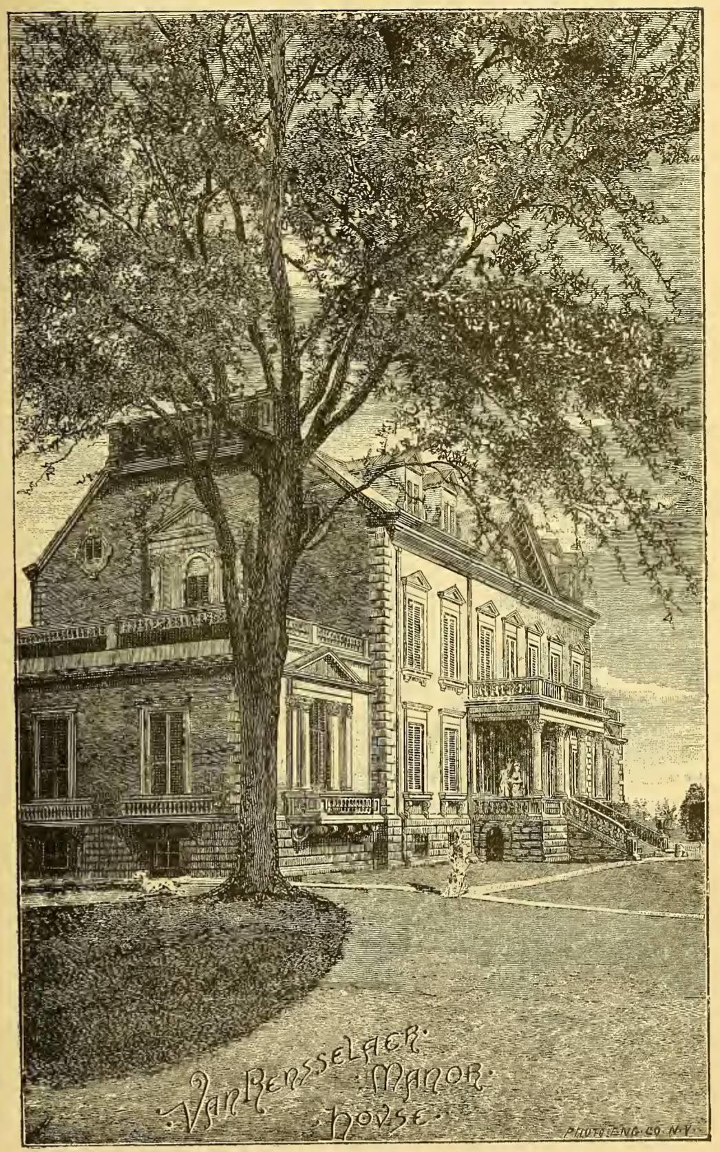 History of Albany Weise Van Rensselaer Manor