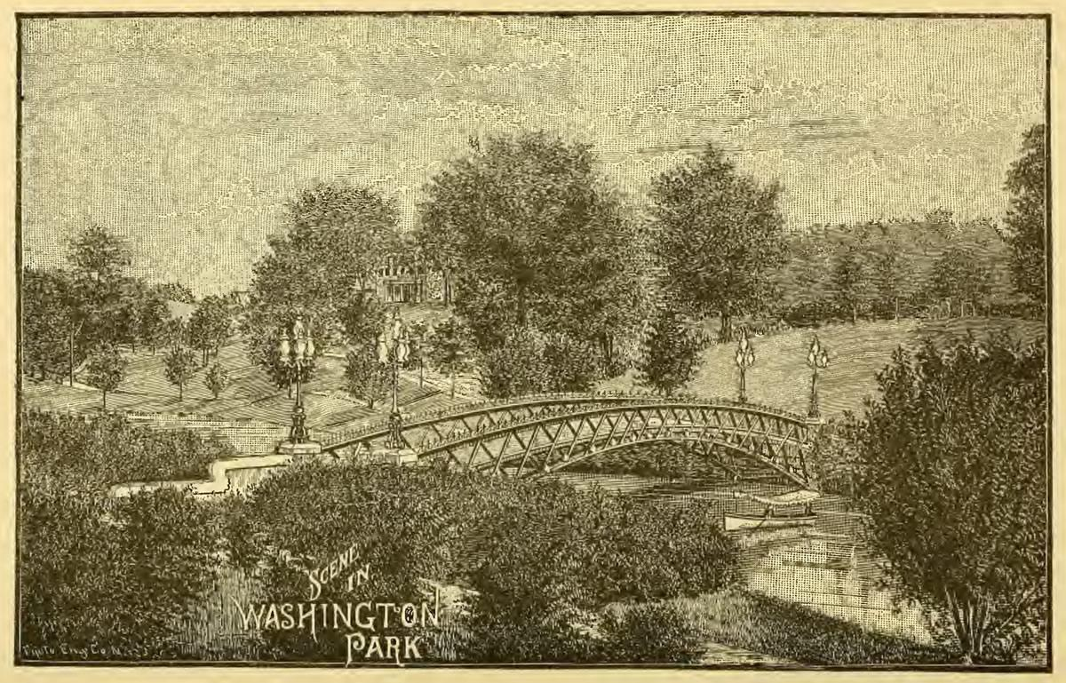History of Albany Weise Washington Park