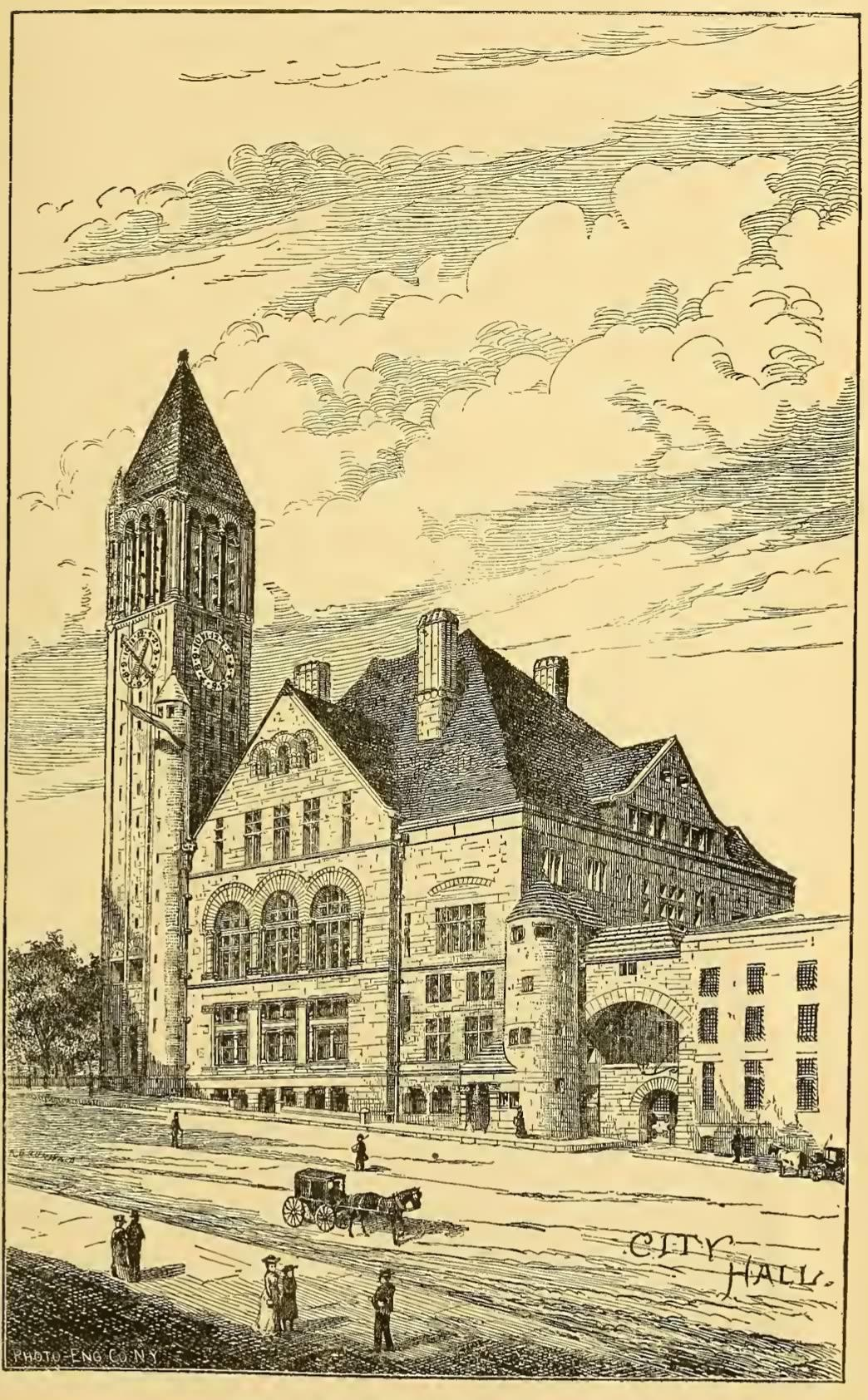 History of Albany Weise city hall