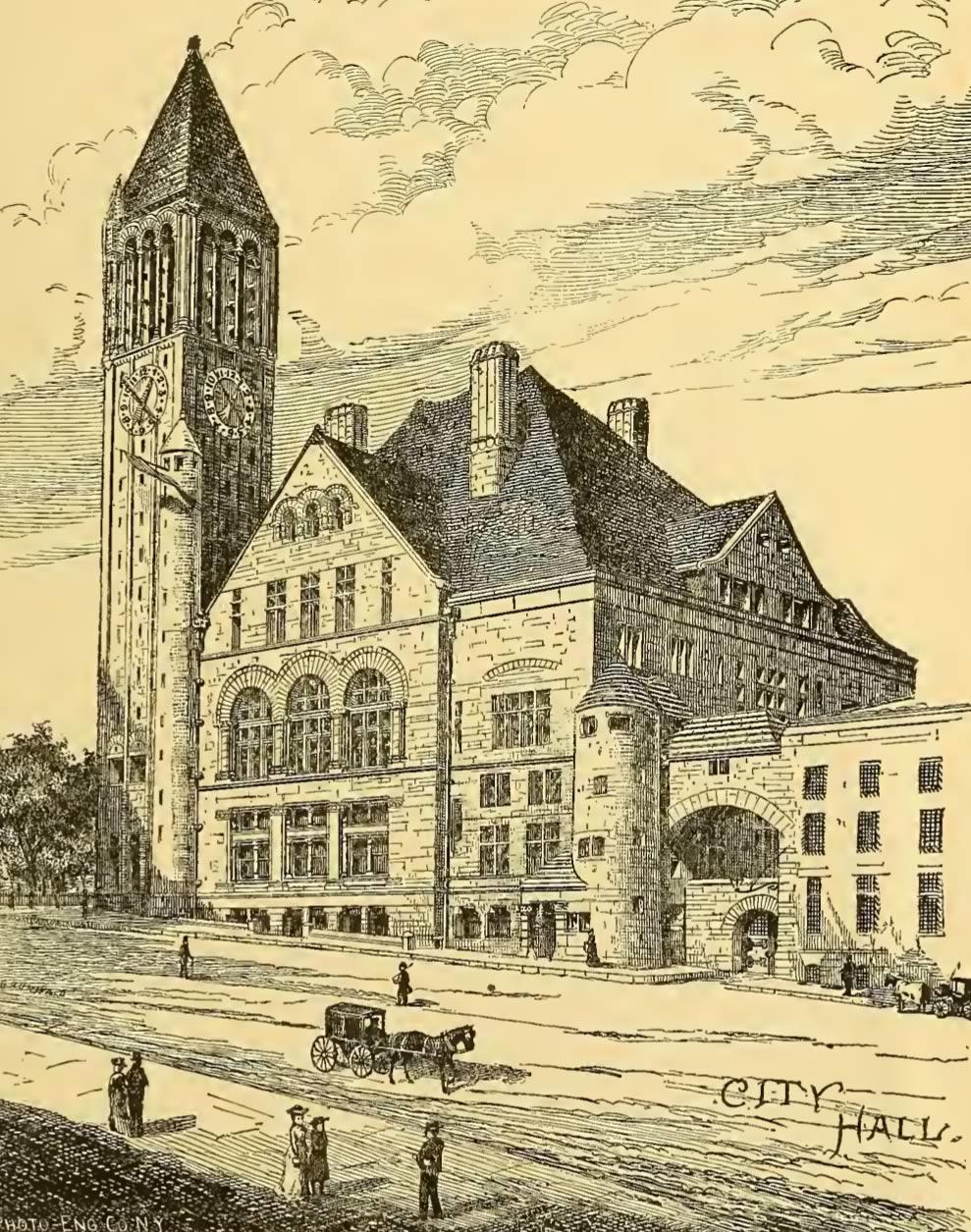History of Albany Weise city hall cropped