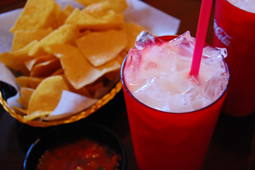 Horchata at Salsa Latina
