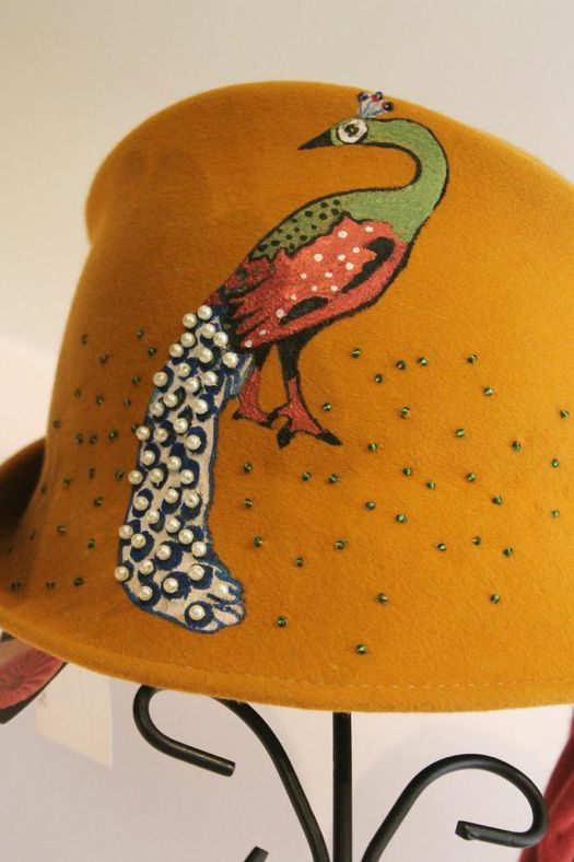 Hudson Hat shop peacock hat.jpg
