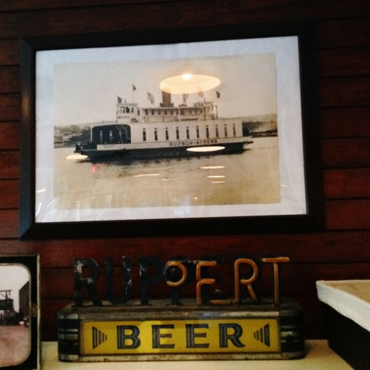 Hudson-Athens old ferry photo in Crossroads