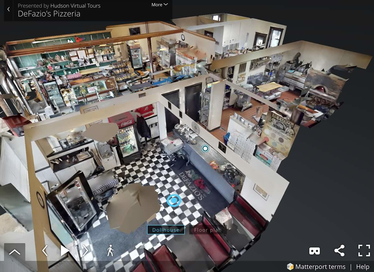 Hudson Virtual Tours DeFazios screengrab