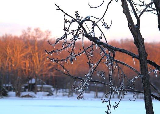 Ice Walk Dusk