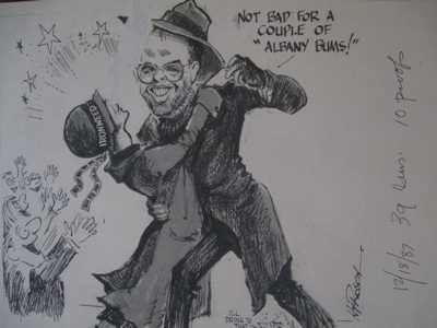 Ironweed Cartoon