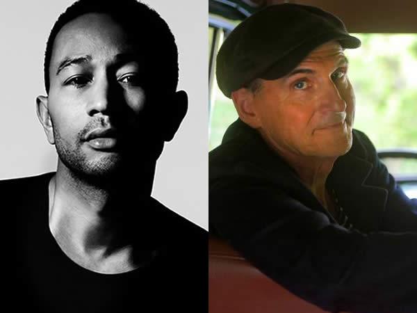 John Legend and James Taylor
