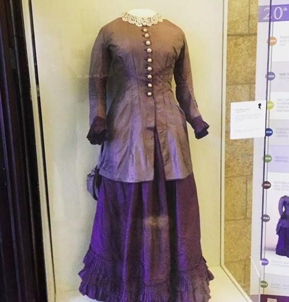 Kate Stoneman dress exhibit Albany Law