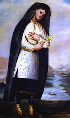Kateri Tekakwitha portrait