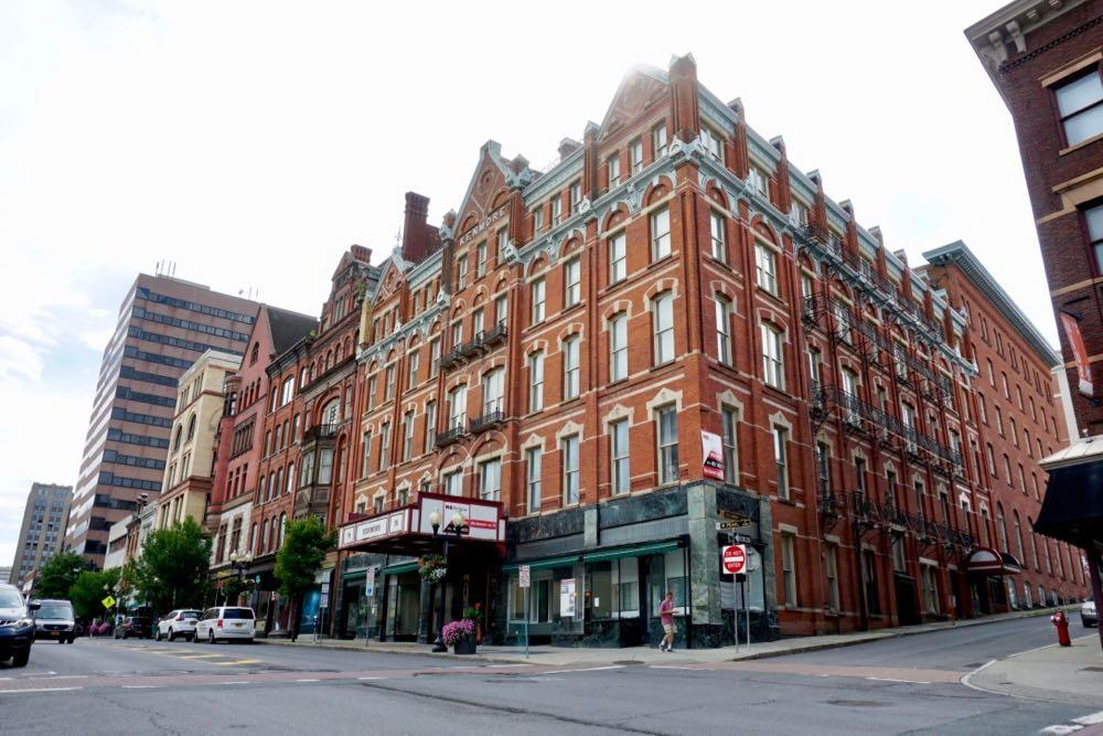 Kenmore Hotel block downtown Albany