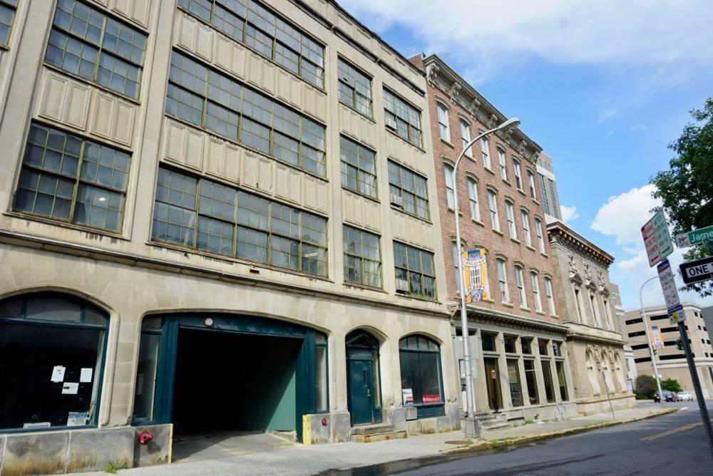 Kennedy Garage Columbia Street downtown Albany 2018-August