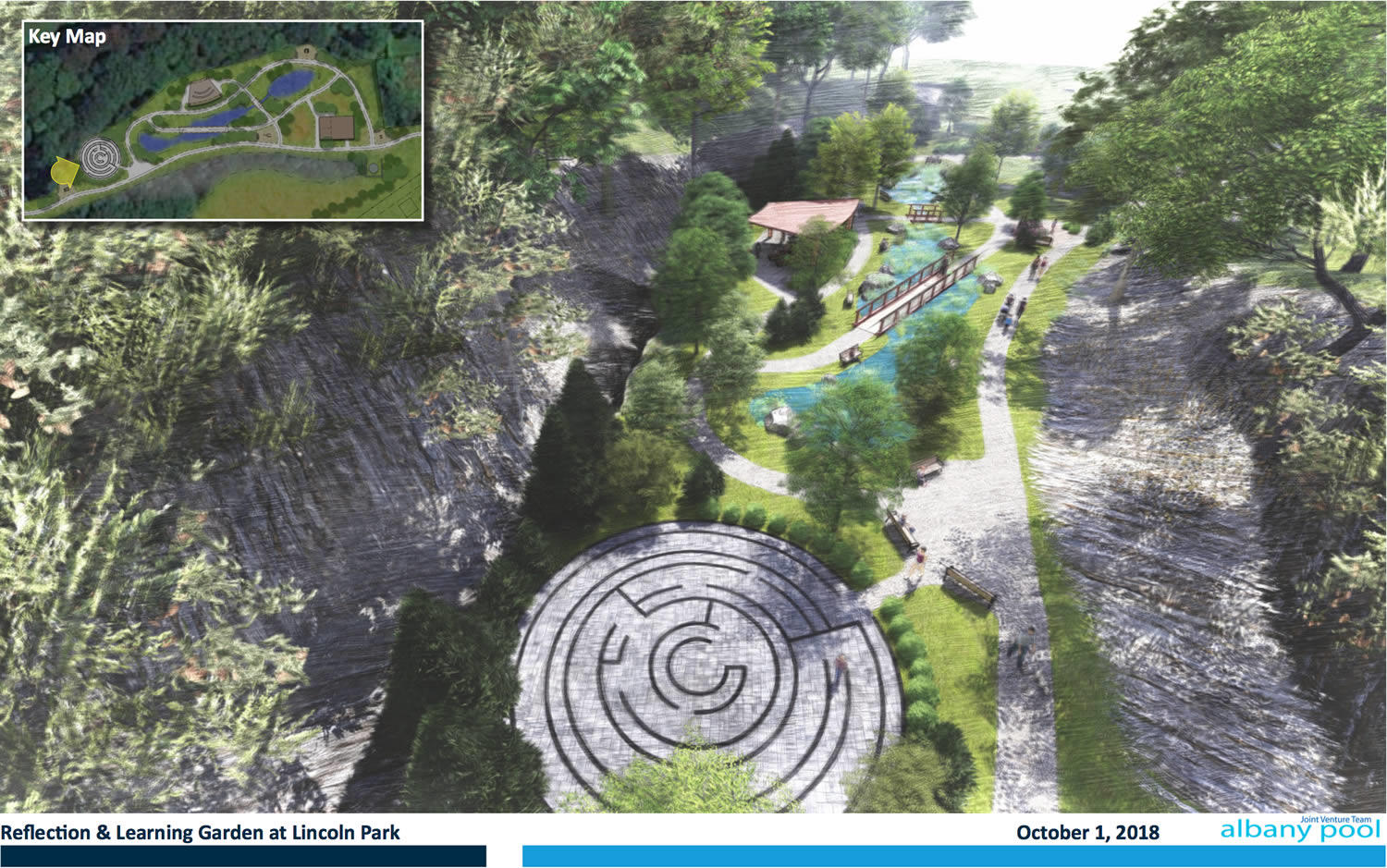 Lincoln Park Beaver Creek Clean River garden proposal