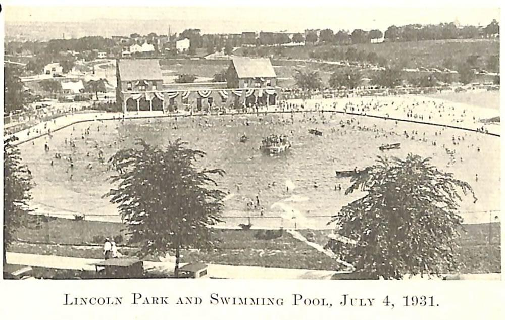 Lincoln Park Pool 1931