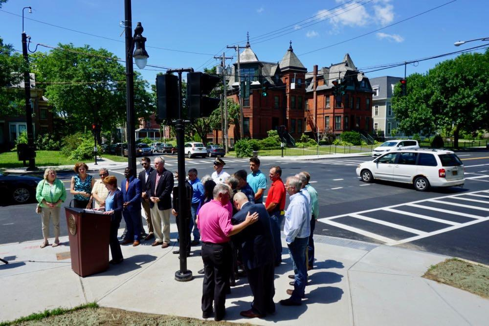 Madison Ave road diet finished press conference