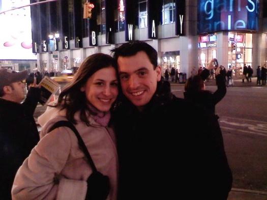 Matt Streifert and Alana Sangiacomo