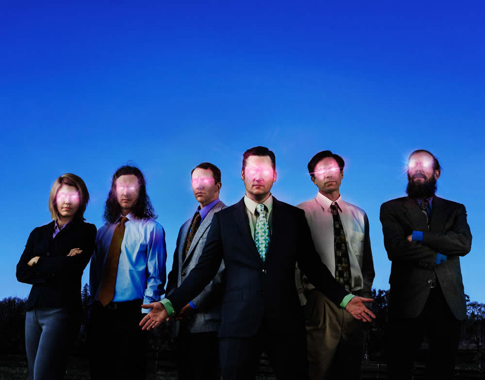 the band Modest Mouse 2018